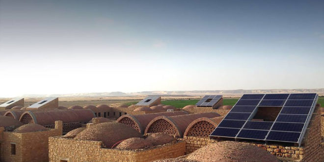 Egyptian Village Goes Solar