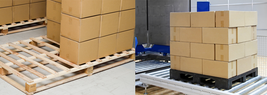 wooden pallets vs plastic pallets
